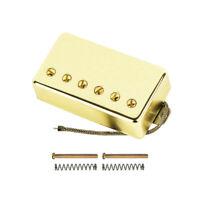 Gold Alnico 5 Humbucker Electric Guitar Pickup Bridge Pickup for LP Style Guitar
