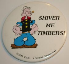 "Vintage POPEYE ""Shiver Me Timbers"" Copy Right 1085 K.F.S."