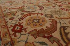 9' x 12' Handmade 100% Wool Traditional Oriental Area rug 9x12 Beige