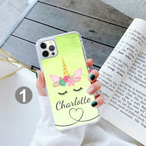 Personalised Unicorn Phone Case Cover For Apple Samsung iPhone GEL 208-1