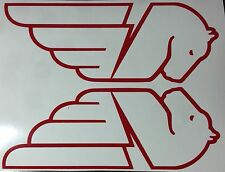 Buell Pegasus Outlines Decals. Red. 1Pair. Or choose your color.