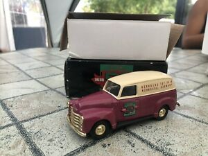 1/43 ERTL 1950 CHEVROLET PANEL TRUCK 50 TH ANNIVERSARY No Corgi Edil Dalia