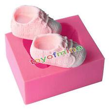Schuhe Fondant Mould Marzipan Baby Tortendeko Ausstecher Silikonform