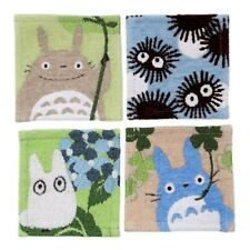 Studio Ghibli Fabric coasters Set of 4 My Neighbor Totoro Kurosuke Sho Chu