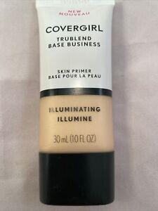 Covergirl TruBlend Base Business Skin Primer ILLUMINATING New 1.0 FL Oz