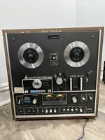 AKAI X-1810D Reel To Reel Player & 8 Track Tape Player