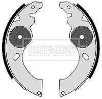 Brake Shoes fits LIGIER BE UP 0.5 02 to 06 LGW523 Set B&B Top Quality Guaranteed