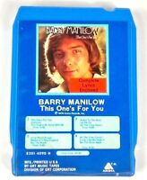 Barry Manilow This One's For You (8-Track Tape, 8301-4090 H)