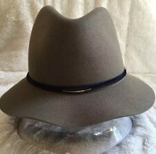 NEW BOLLMAN HAT COMPANY 100% Wool Men s Hat Fedora 2 1 2