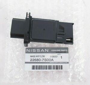 Genuine OEM Nissan Infiniti 22680-7S00A Mass Air Flow Sensor