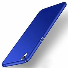 PREMIUM 4 CUT iPAKY MATTE FINISH HARD BACK CASE COVER FOR OPPO A37 / NEO 9 Blue