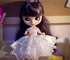 """12""""Neo Blythe Doll Purple Hair Jonit Body Matte Face Nude Doll from Factory"""