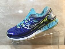 Saucony ISOFIT Triumph Blue/Purple Running Walking Casual Shoes Womens Size 9