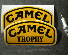 Pair of Camel Trophy stickers