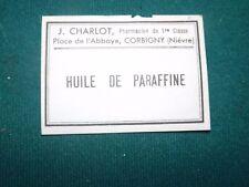 Scrabooking N°18( huile de paraffine) Lot d'anciennes de 20 Etiquettes Pharmacie