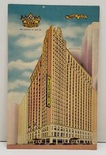 Hotel Victoria Radio City New York Postcard