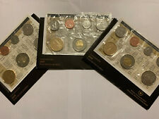 Canada 2006, 2007 And 2009 RCM Uncirculated Coin Sets.