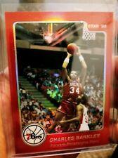 1996 Topps NBA Stars Finest Refractor rp Charles Barkley RARE
