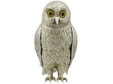 Sterling Silver 'Owl' Ornament by Israel Freeman & Son - Vintage (1967)