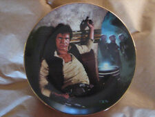 Han Solo in Mos Eisley Cantina - Star Wars Plate Hamilton Collection  #2496U