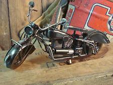 INDIAN SPORT INLINE 4 CYLINDER METAL MOTORCYCLE ART (( SHIPS WORLDWIDE ))