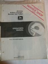 JOHN DEERE MANUAL 80 AMP BATTERY CHARGER BOOSTER TESTER