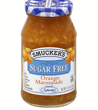 NEW SEALED Smuckers Sugar Free Orange Marmalade w/Spenda exp: 12/21