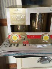 LumiDecor Mercury Glass Candles