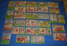 27 Orig WWII WAC Linen Humor Postcards WOMEN'S ARMY CORPS * 3 Anti Axis HITLER