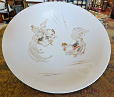 HUTSCHENREUTHER Large Bowl Centerpiece Fighting Cocks Roosters