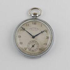 Watch Gnomon Chronometre 15 Jewels 1A Antique Vintage Art Deco Swiss Pocket
