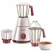 Prestige Nakshatra Plus 750-Watt Mixer Grinder with 3 Jars White Red