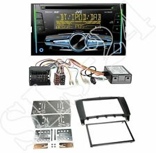 JVC kw-db92bt USB Radio + MERCEDES CLASSE C (w203) 2-din MASCHERINA BLACK + CAN-BUS