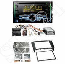JVC KW-DB92BT USB Radio + Mercedes C-Klasse (W203) 2-DIN Blende black + CAN-Bus