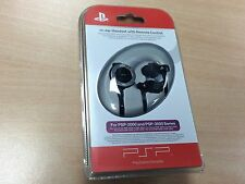 PSP In-Ear Headset with Remote Control  Sony PSP 2000 3000 New