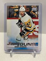2019-20 Upper Deck Hockey Young Guns Adam Johnson Penguins Rookie Card RC