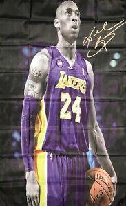 Los Angeles Lakers NBA Kobe Bryant 3x5 ft Basketball Sport Banner Man-Cave