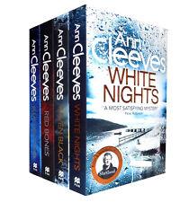 Ann Cleeves Shetland Series Quartet Collection 4 Books Set, White Nights...