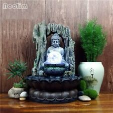 Creative Resin Water Fountain Feng Shui Ornaments Home Decoration Buddha Statues