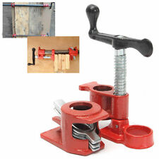 1/2'' Heavy Duty Cast Iron Pipe Clamp for Wood Gluing Quick Release Clamping