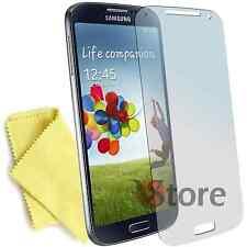 10 Pellicole Per Samsung GALAXY S4 I9500 Pellicola Proteggi Salva Schermo LCD