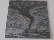 THURSDAY / ENVY split LP SILKSCREEN COVER black/silver vinyl #449/1000 UNPLAYED