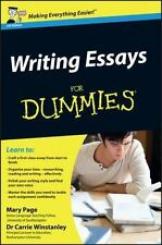 Writing Essays for Dummies by Mary Page and Carrie Winstanley (2012, Paperback)