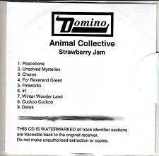 ANIMAL COLLECTIVE Strawberry Jam 9-trk UK watermarked promo test CD sealed