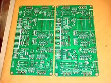 2 PIECES CLASS A 50W POWER AMPLIFIER PCB BASED ON KSA50