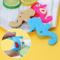 Food Grade Silicone Fish Teether Baby Pacifier Chew Toy Nursing Pendant Beads QL