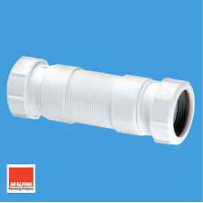 """McAlpine Flexible Extension Déchets Tuyau Connecteur 32 mm 1-1/4"""" FLEXCON3"""