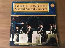 DUKE ELLINGTON - SECOND SACRED CONCERT - FANTASY RECORDS F 2809 - YEAR 1968