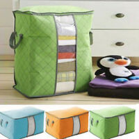 Foldable Home Big Closet Storage Bag Organizer Box Anti-bacterial Clothing/Quilt