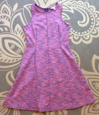 Lilly Pulitzer Flamingo Pink A-line Stretch Sleeveless Dress Women's Size S
